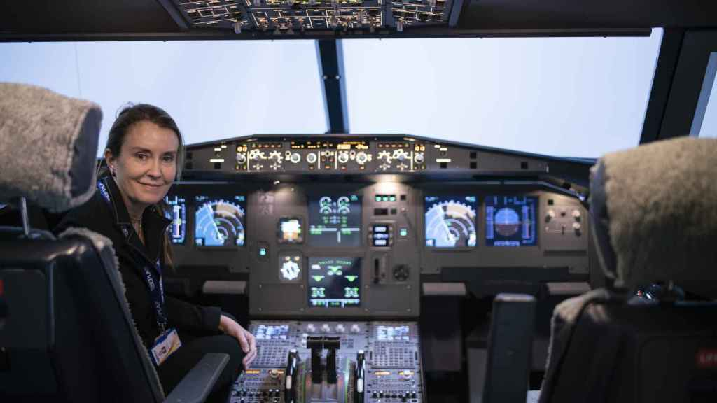 Consuelo Arto, piloto miembro de la oficina técnica Sepla y directora formación Adventia.