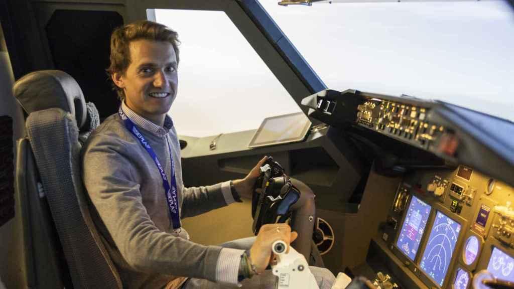 Alejandro Rosario, piloto e instructor en Wasim.