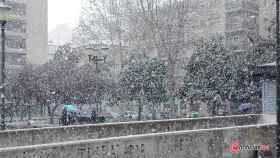 nieve salamanca febrero 2018