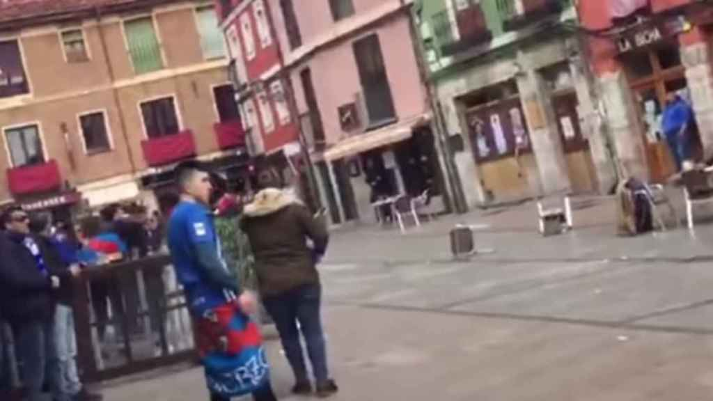 Pelea en León entre los ultras de la Cultural y de la Ponferradina