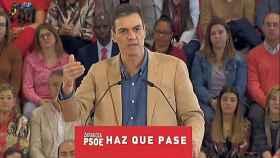Pedro Sánchez en Zaragoza.