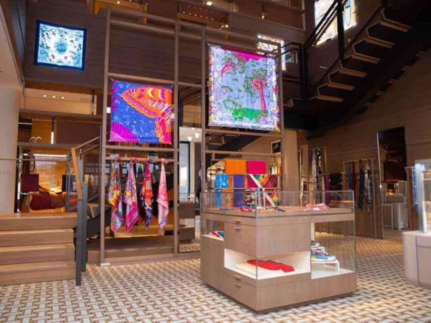 Nueva tienda de Hermès en Nueva York.