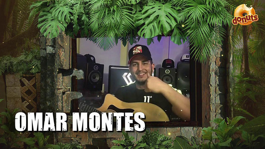 Omar Montes en la imagen promocional de 'Supervivientes 2019'.