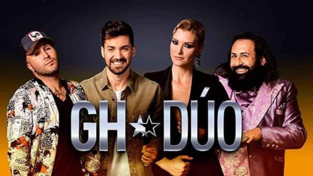 Los cuatro finalistas de la primera edición de 'GH DÚO'.