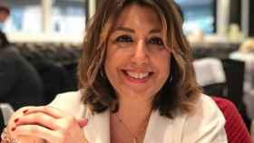 Susana Díaz, luciendo nuevo corte de pelo en sus redes sociales.