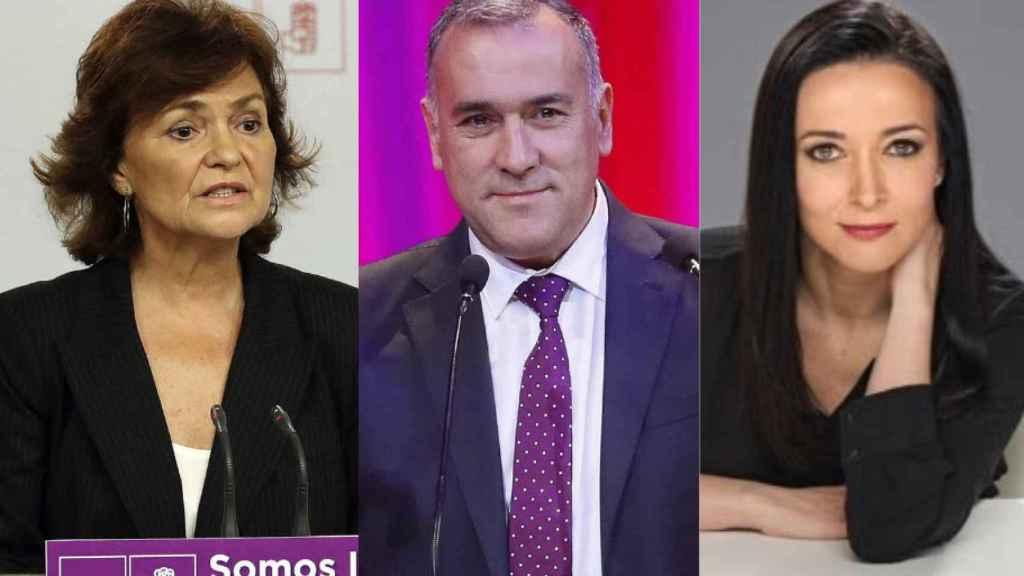 Carmen Calvo, Xabier Fortes y Cruz Sánchez de Lara, entre los galardonados.