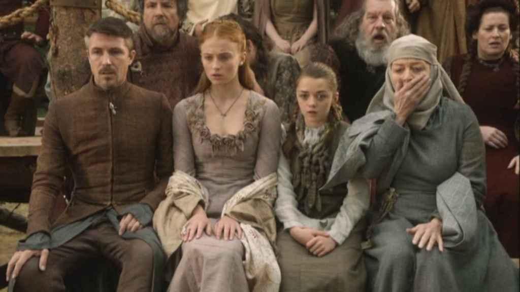 Los personajes en la primera temporada.