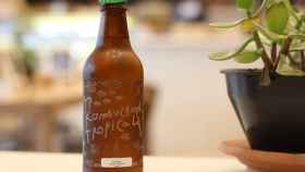 Botella de kombucha