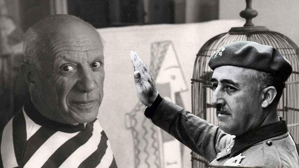 Picasso y Franco.