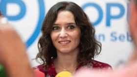 La candidata del PP a la Comunidad de Madrid, Díaz Ayuso.