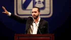 El líder de El Salvador, Nayib Bukele.