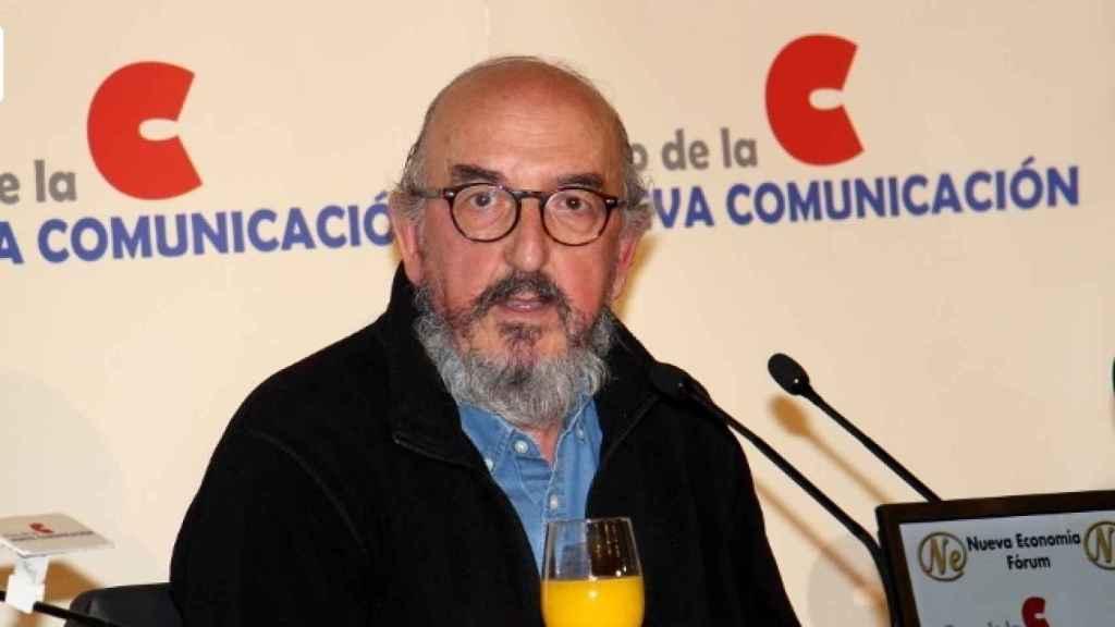 Jaume  Roures, durante su intervención en el Foro de la Nueva Comunicación