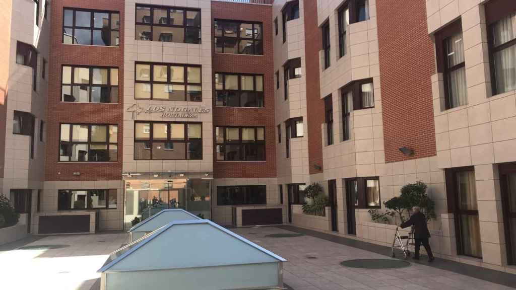 Residencia de ancianos Los Nogales, en Madrid.