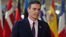 Pedro Sánchez llega a una reunión sobre el 'brexit' celebrada en el Consejo Europeo de Bruselas.