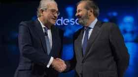 El CEO de Endesa, José Bogas, y el futuro presidente, Juan Sánchez Calero.