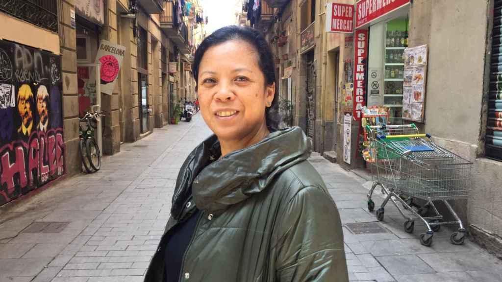 Jossie Rocafort es la persona que hace de mediadora para ayudar a los adictos a esta sustancia en Barcelona