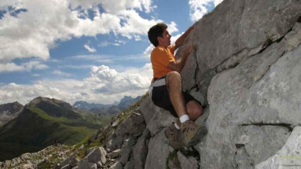 Broncano en la escalada.