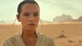 La actiz Daisy Ridley en el nuevo trailer de 'Star Wars'
