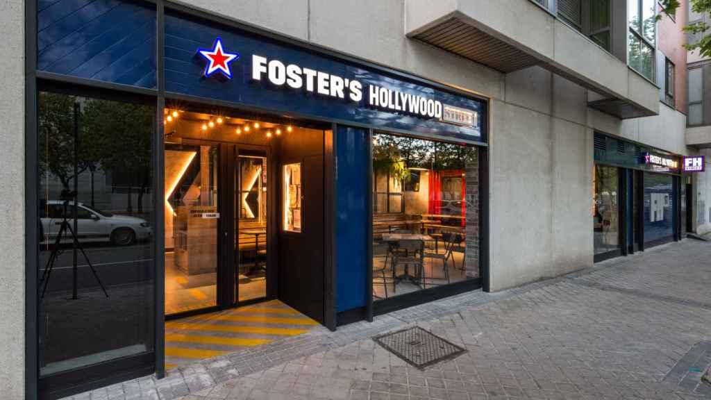 La nueva enseña de Foster's Hollywood.