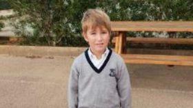 Samuel, desaparecido en noviembre.