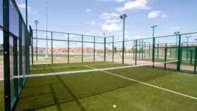 Pista de pádel en Badajoz. Foto: aytobadajoz.es