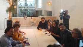 Fotografía de la reunión que ha tenido lugar este viernes.