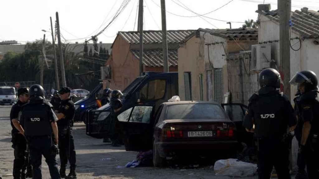 El acusado fue a pillar cocaína al poblado de Son Banya