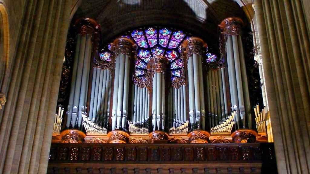 El órgano de Notre Dame.