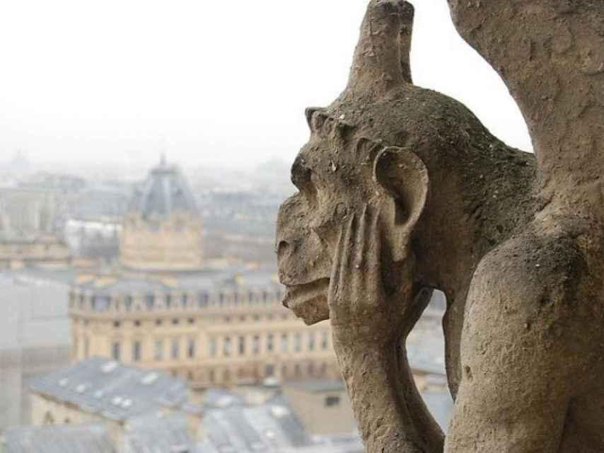 Gárgola de Notre Dame.