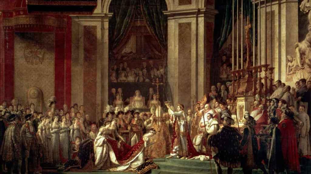 La consagración de Napoleón.