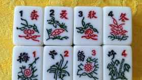 Un gran juego de mesa asiático, el Mahjong