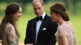 Rose Hanbury, el príncipe Guillermo de Inglaterra y Kate Middleton.