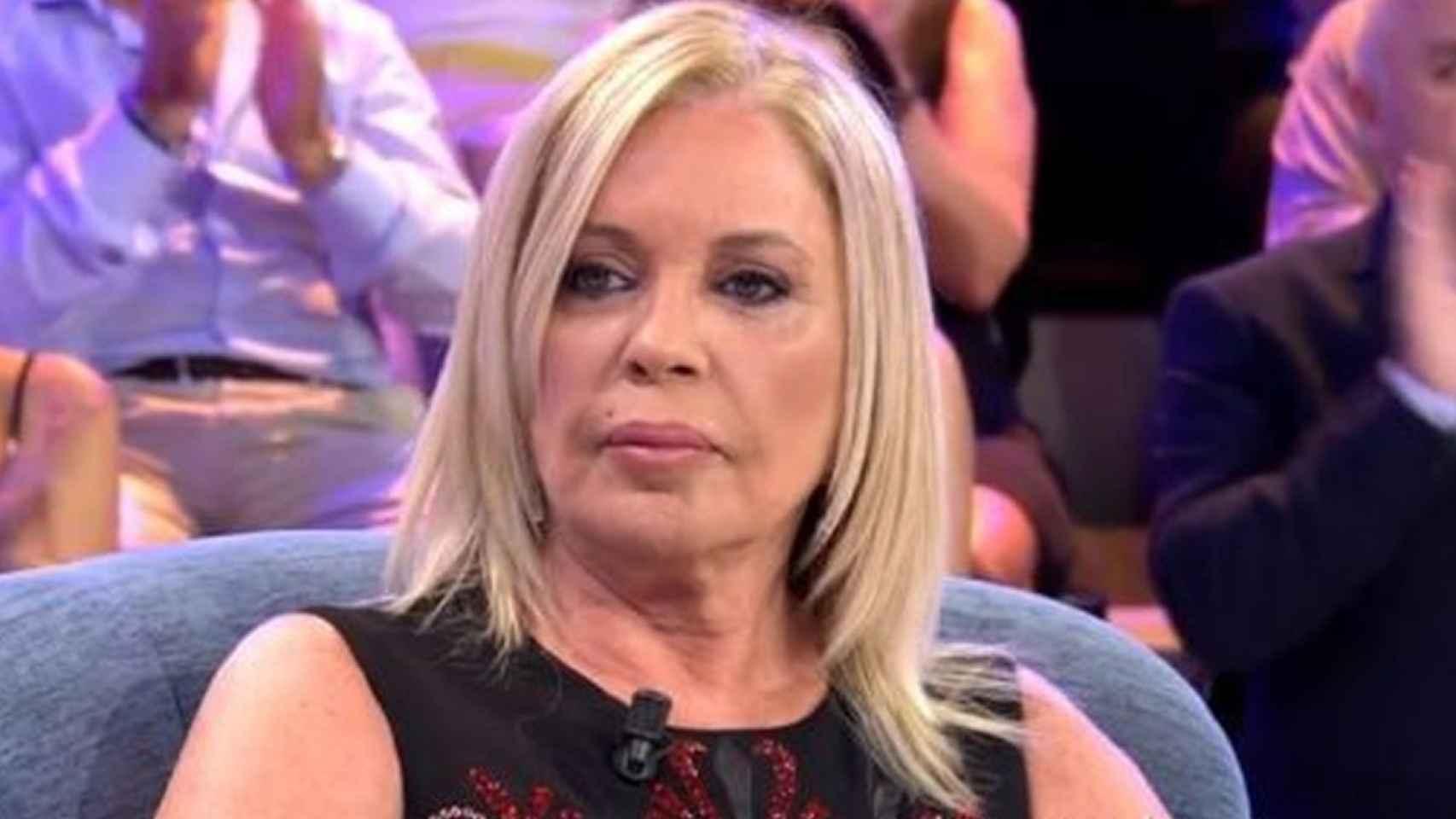 Bárbara Rey durante su participación en 'Sábado Deluxe'.