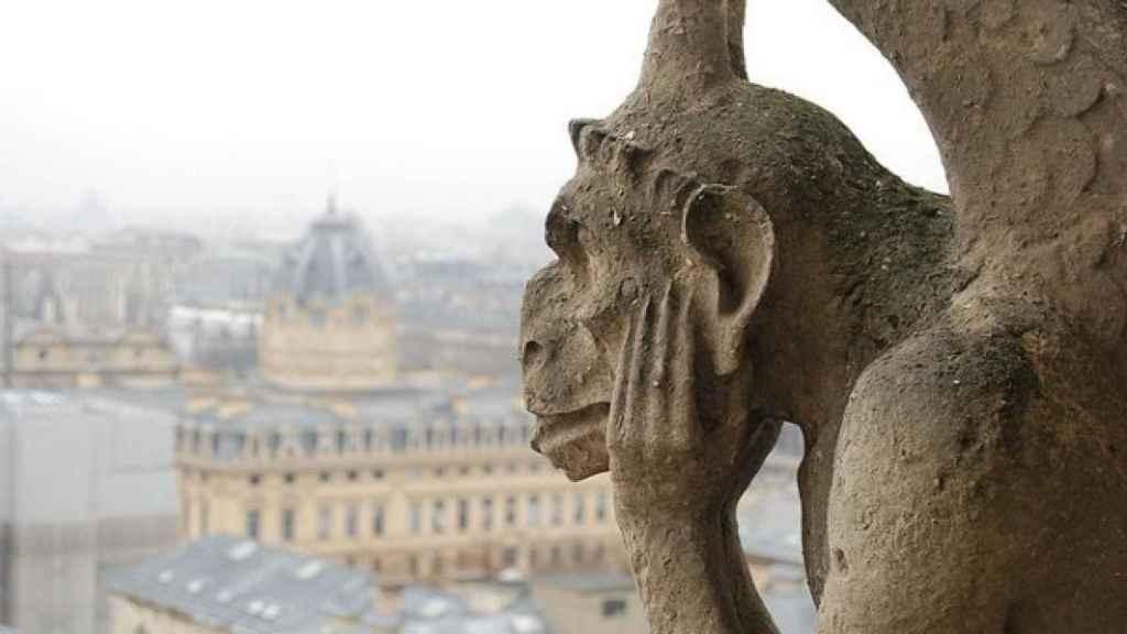 Gárgolas de Notre Dame.
