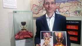 El investigador de la Universidad Politécnica de Valencia Manuel Zarco.