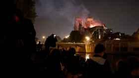 El incendio de Notre Dame en París