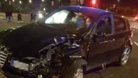 Resultado del vehículo tras sufrir el accidente. Foto: Las Provincias