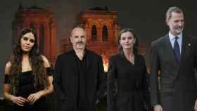 Cristina Pedroche, Miguel Bosé y los reyes Letizia y Felipe han querido enviar sus mensajes por la tragedia.
