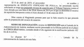 Recurso interpuesto por el SUP sobre la ley vasca de abusos policiales.