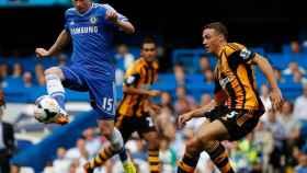 De Bruyne en un partido del Chelsea