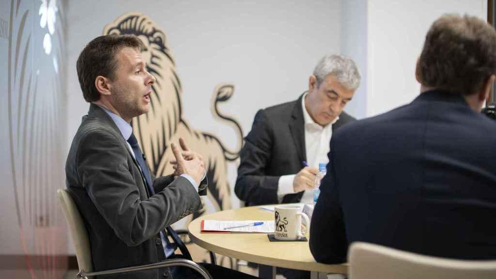 Daniel Fuentes, número 3 de la oficina económica de Moncloa, en el debate de EL ESPAÑOL.
