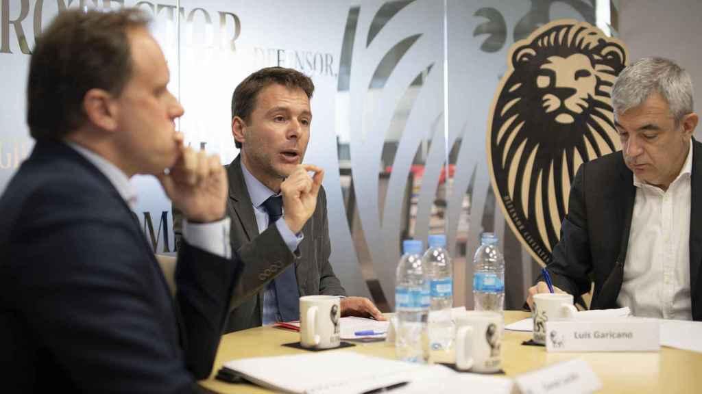 Lacalle, Fuentes y Garicano en el debate económico de EL ESPAÑOL.