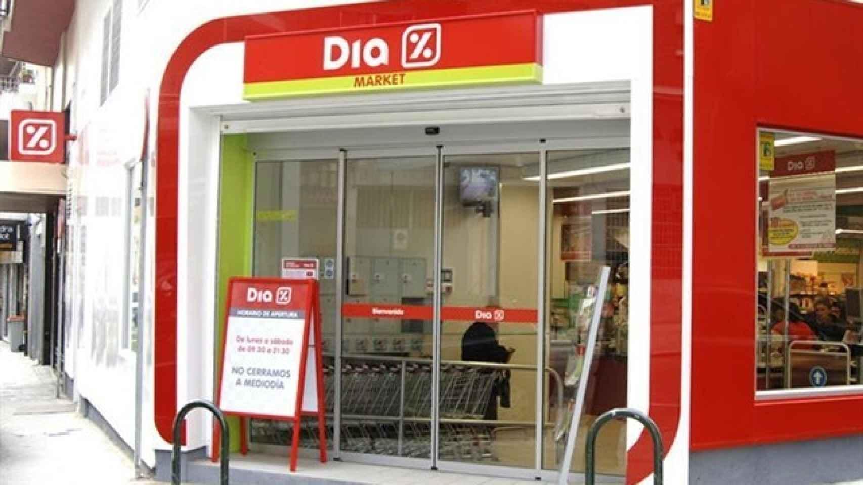Un supermercado de Dia, en una imagen de archivo.