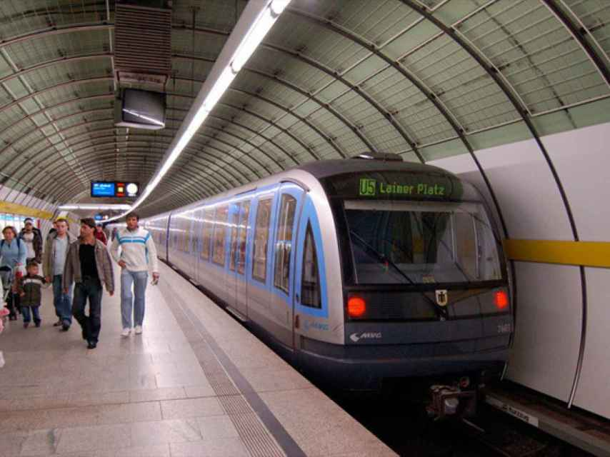 Metro de Múnich.