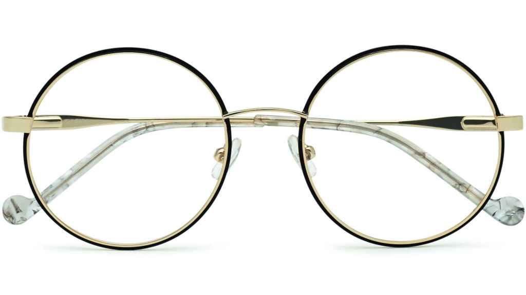 Gafas de ver redondas.