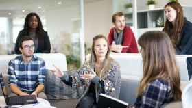 Un grupo de jóvenes en una imagen de archivo.