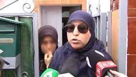 La madre del yihadista detenido.