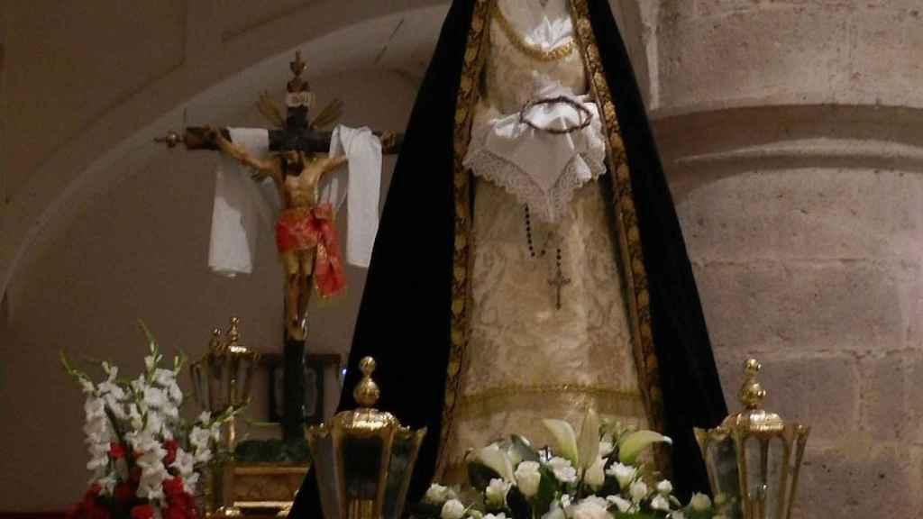 El Cristo de La Dolorosa en Meco.