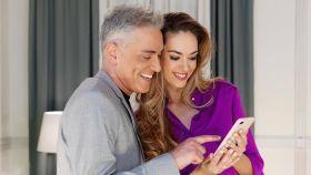 Elena de José y  Kiko Hernández en una imagen de redes sociales.