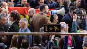El candidato de Vox a la presidencia del Gobierno, Santiago Abascal.